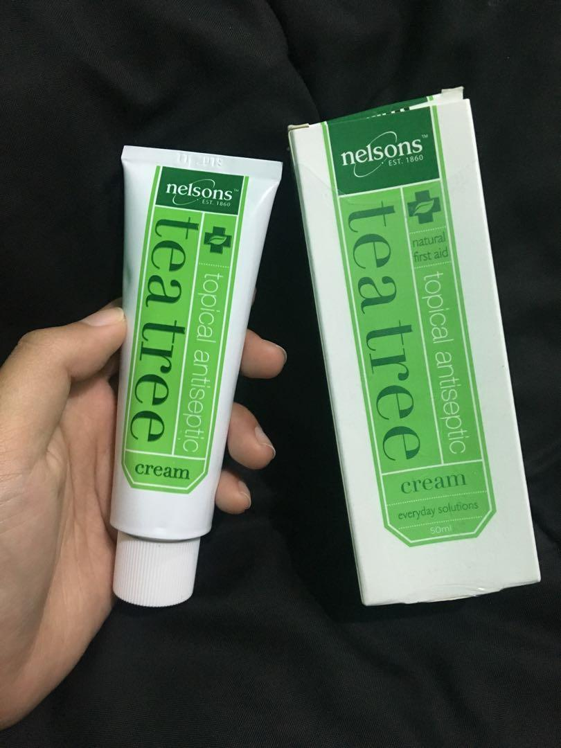 Review Nelsons Tea Tree Cream Untuk Jerawat
