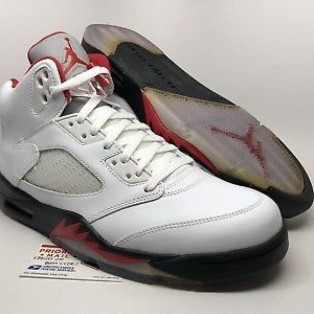 online retailer 957d5 77560 Nike Air Jordan 5 Retro 2013 Fire Red shoes (Air Jordan V) US 10.5 ...