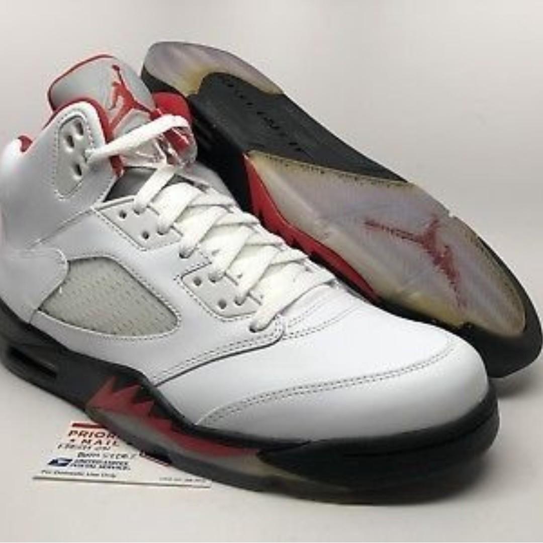 cheap for discount f43e2 a6a7a Nike Air Jordan 5 Retro 2013 Fire Red shoes (Air Jordan V ...