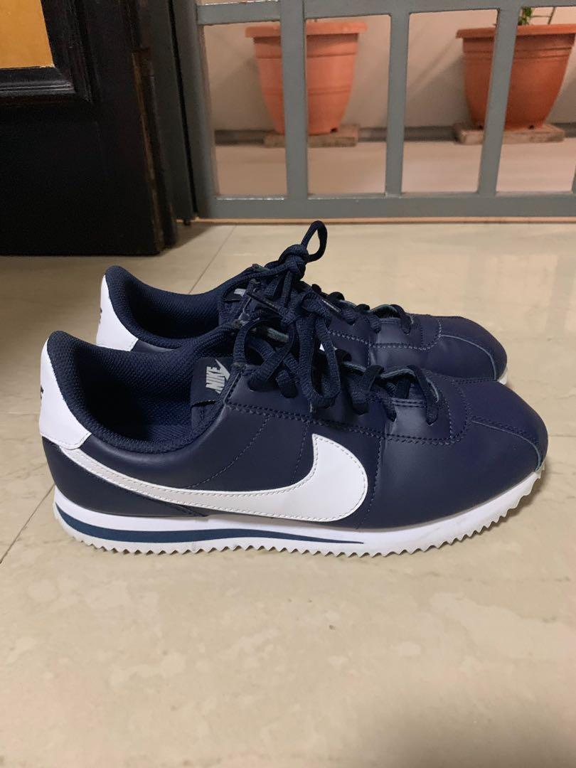new york ff967 78a1c Nike Cortez navy blue UK 5.5 EU 38.5 (junior), Women's ...