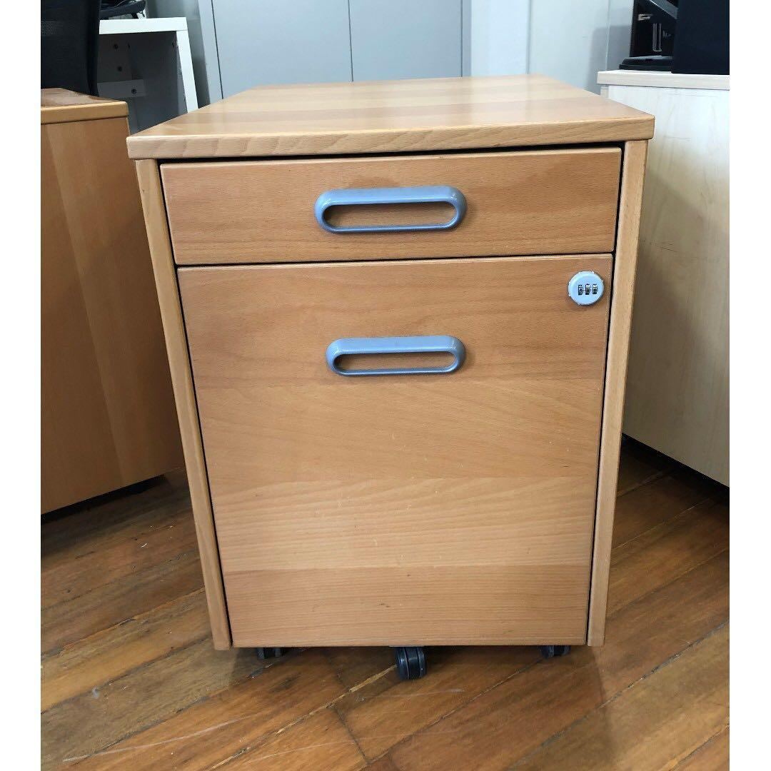 Office Side Table With 4 Drawers Furniture Shelves