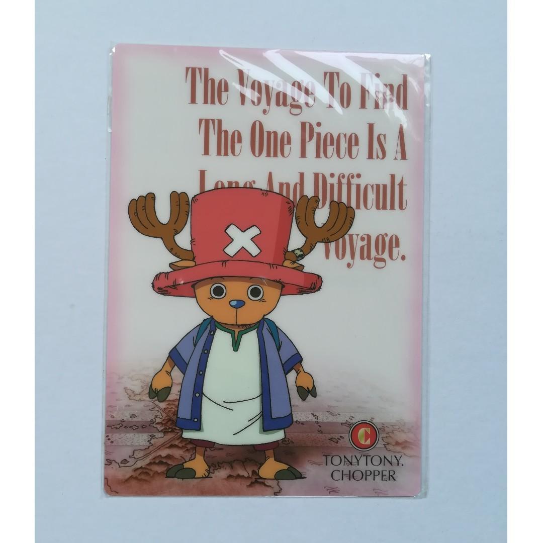 One Piece - Tony Tony Chopper - Mini Shitajiki / Mini Pencil Board / Mini Desk Pad / Mini Plastic Sheet / Mini Underlay Board