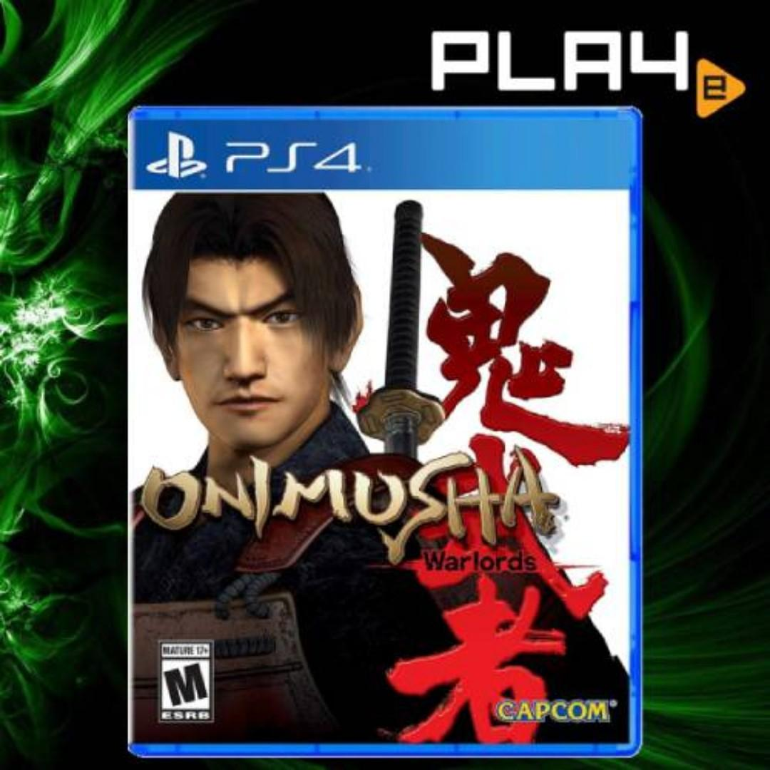 PS4 Onimusha Warlords Brand New