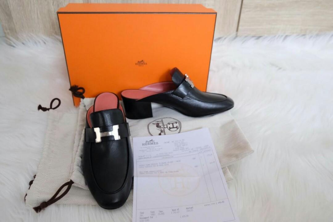 Ready New Hermes mules charmin paradise size 36,5 complete set :13.950.000