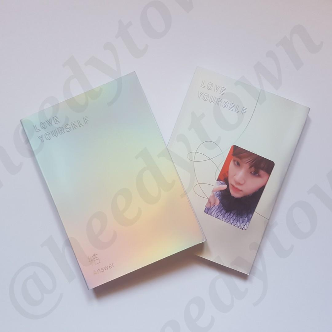 (READY STOCK) BTS - LOVE YOURSELF: ANSWER (S Version) With SUGA PC