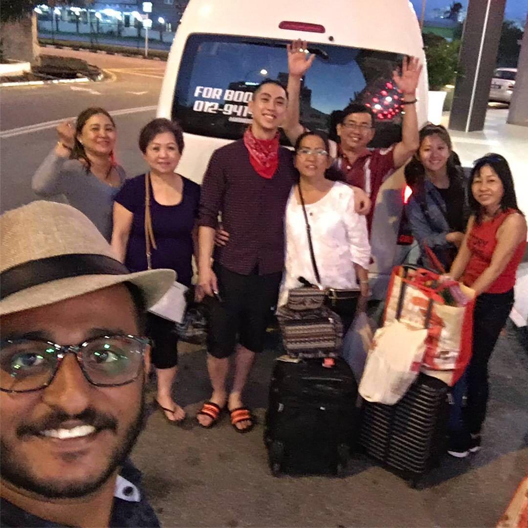 rental van / tour van / klia van / airport van / transport / tour