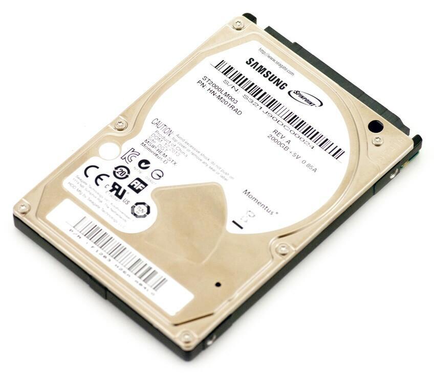 "Samsung /Seagate 2.5"" 2tb notebook hard disk 1tb 500g"