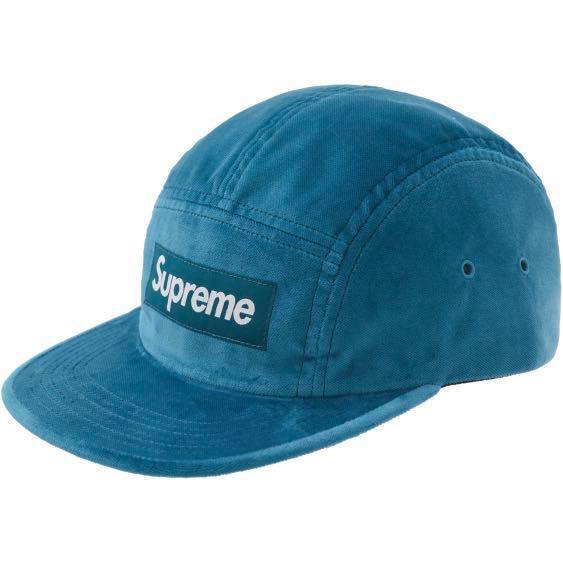 f66bf130 Supreme Velvet Camp Cap, Men's Fashion, Accessories, Caps & Hats on ...