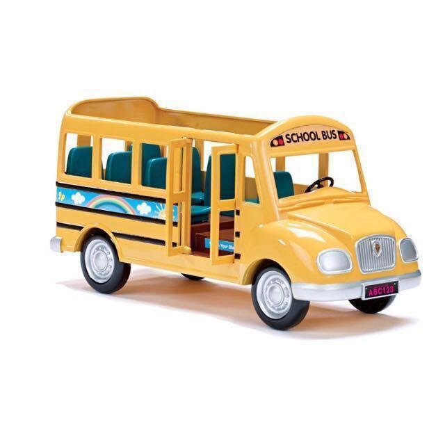 Sylvanian Families / Calico critters vintage school bus