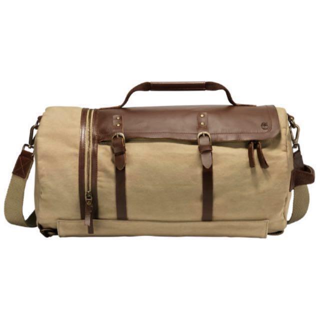 ea9cfeabc0a Timberland Nantasket Waxed Canvas Duffle, Women's Fashion, Bags & Wallets,  Sling Bags on Carousell