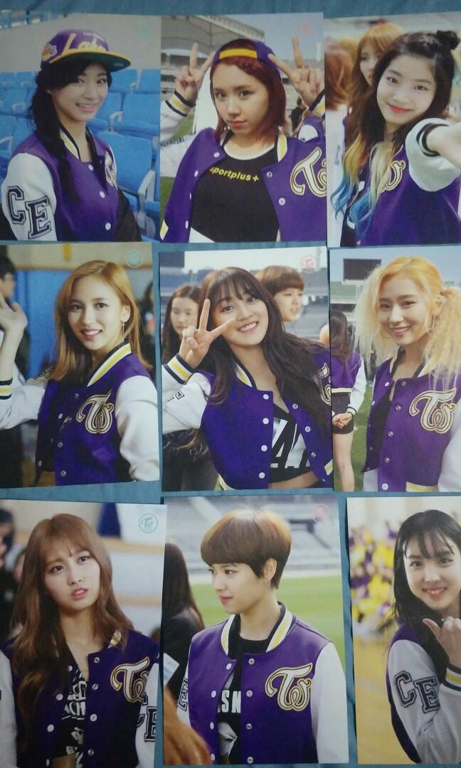 TWICE PAGE TWO MONOGRAPH photocards limited edition