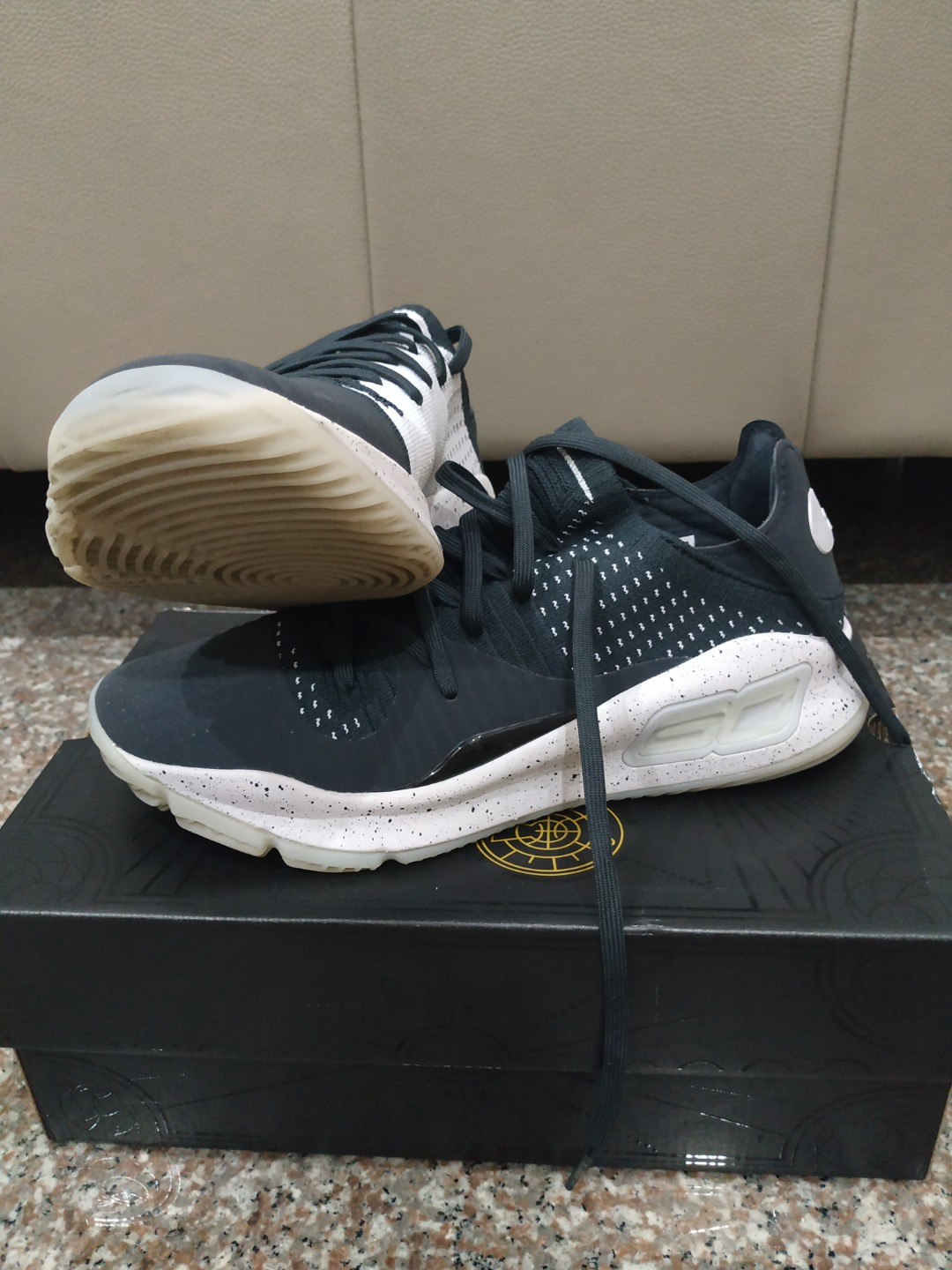 33935f9811f Under Armour Curry 4 Low Basketball Shoe US9