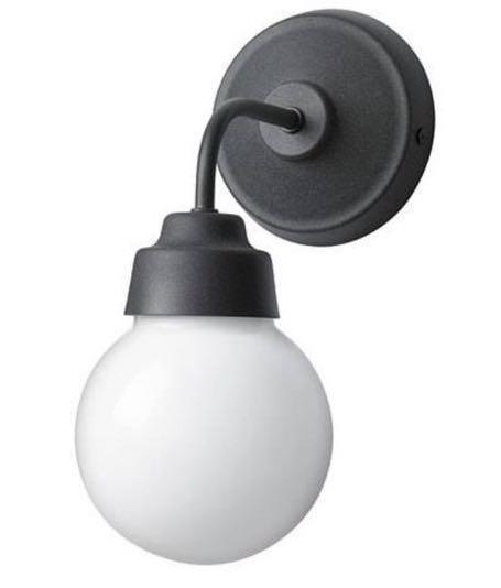 Wall lamp vitemolla(ada sepasang masih baru warna hitam)