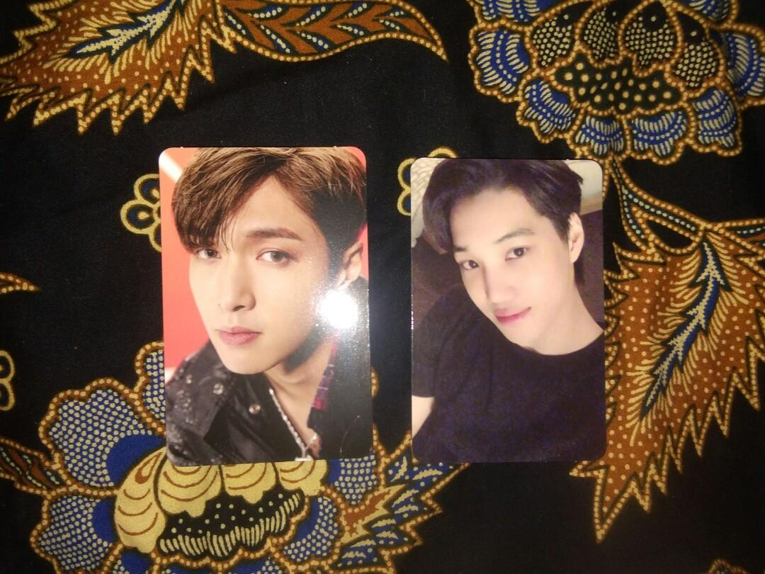 [WTS] EXO DON'T MESS UP MY TEMPO LAY & KAI PC VIVACE