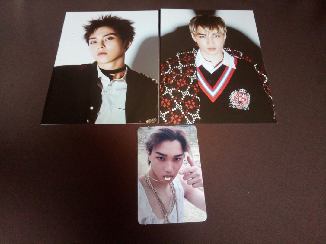 [WTS] Exo don't mess up my tempo official photocard / postcard