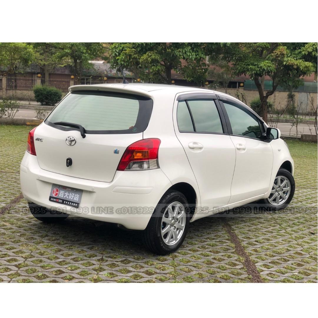 YARIS 超熱門小車車 優質車況 強力過件低利率