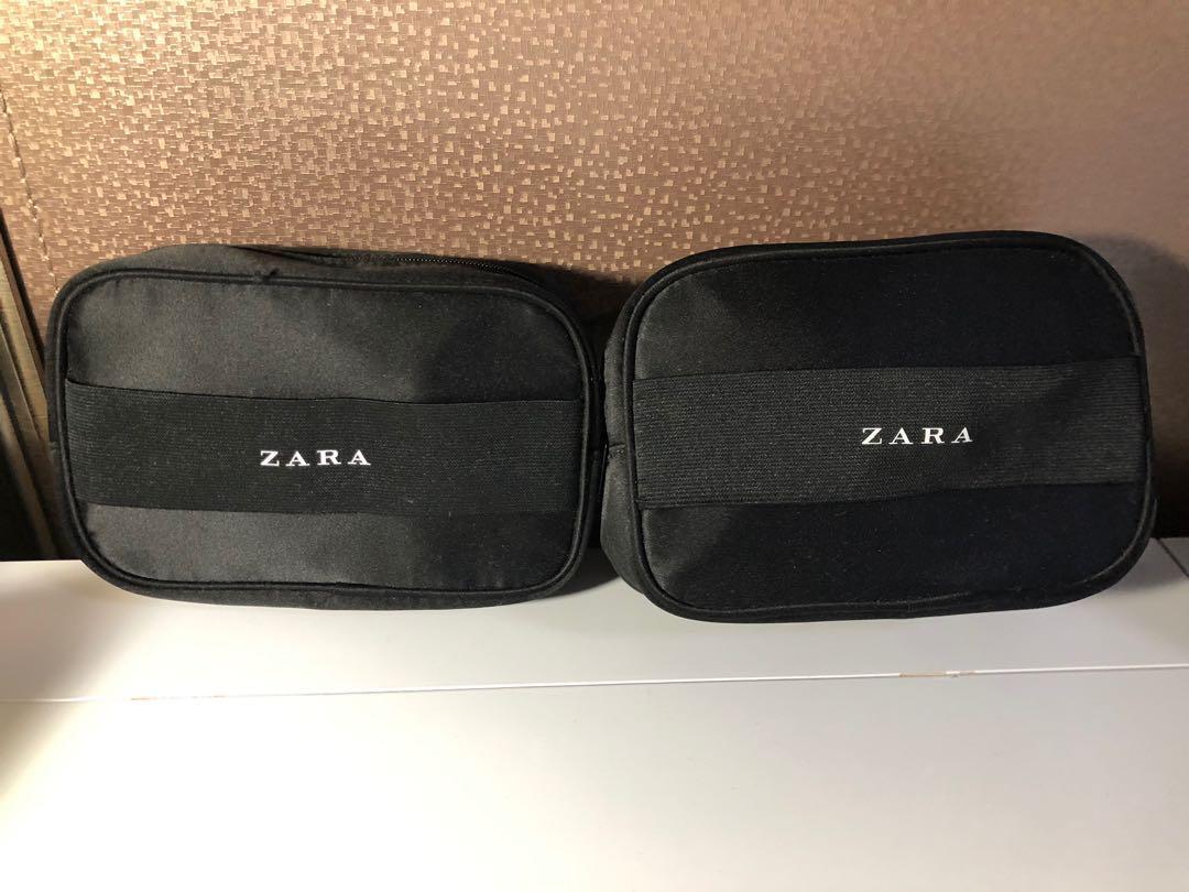 Zara便攜平底鞋(粉色/黃色)