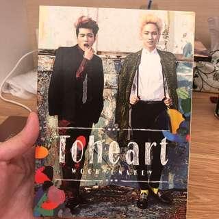 #toheart WooHyun&Key 專輯