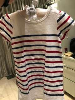 MUJI Japan : Long tops / Short Dress 2-3 Tahun