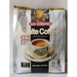 馬來西亞 益昌 三合一白咖啡 (香滑、特濃、少甜)