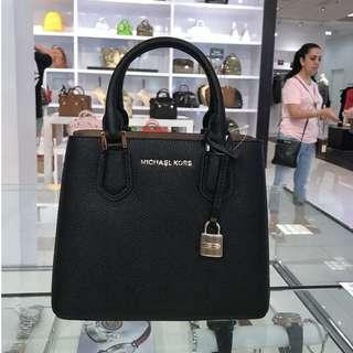 MICHAEL KORS 35H8TAFM2L ADELE BLACK MEDIUM