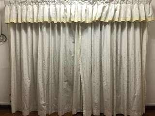 🚚 Full Height Window Curtains (3 layers)
