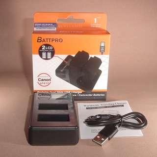 LP-E17 LPE17 USB雙位充電器合Canon EOS RP相機請看內容(香港行貨由BATTPRO免費一年保用)
