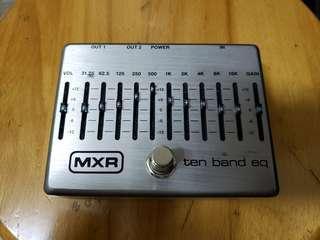 mxr 10 band eq pedal