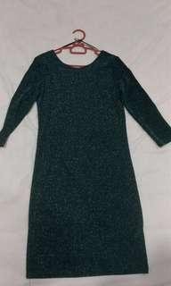 Glittery short party dress