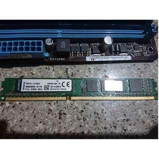 Kingston Technology KVR16N11S8/4 RAM 4 GB 1600 MHz DDR3 兩條