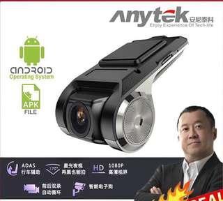 Anytek Dashcam x28 1080P Full HD Car DVR Camera WIFI