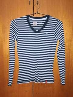 Goggles stripe shirt