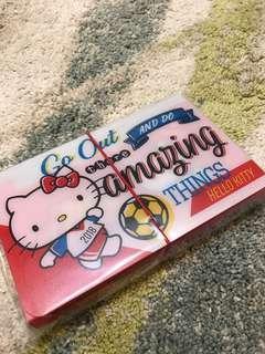 全新Hello Kitty 12層迷你風琴夾