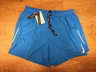 "(XL) Men's Nike 5"" dri-fit running shorts 男子跑步短褲加大碼"