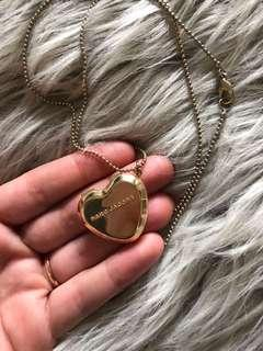 Marc Jacobs Gold Locket