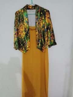 Dress + outer cantik