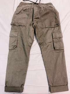 NEW!軍裝工作褲