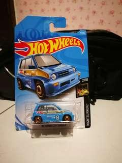 Hotwheels 85 honda city turbo
