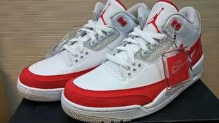 Nike Air Jordan 3 Tinker University Red