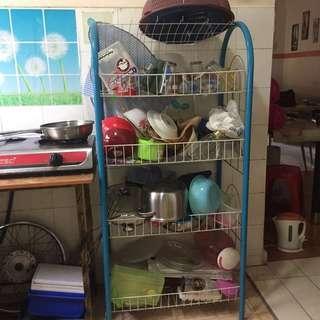 GOOD CONDITION! Kitchen Rack 4 TIER