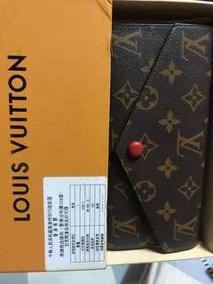 LV Mono Womens Long Wallet