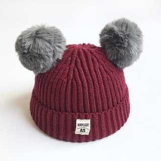 Baby Winter Hat Knitted Winter Cap