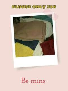 Blouse only 25k
