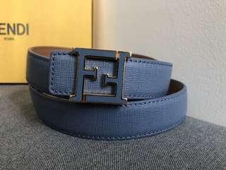 Fendi belt original blue color