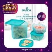Azalea snack container square