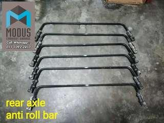 Passo boon rear axle antioll bar for myvi