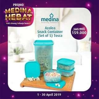 Medina Azalea snack container