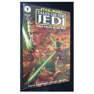 Star Wars: Tales of the Jedi: Dark Lords of the Sith #1 (Dark Horse) Comic