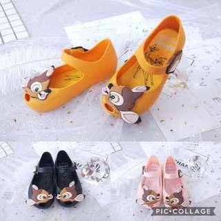 🚚 PO: children mini melissa bambi deer jelly shoe