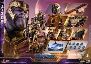 非會員 首日單 2/4 Hottoys Avengers Endgame Thanos MMS529